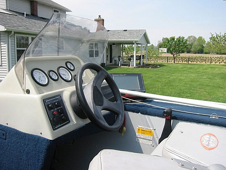 Angler Boat Throttle Control : Sold ft sea nymph hp evinrude fishusa forums